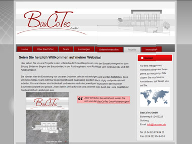 Website BauCoTec